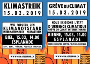 15. März: Weltweiter Klimastreik-Tag